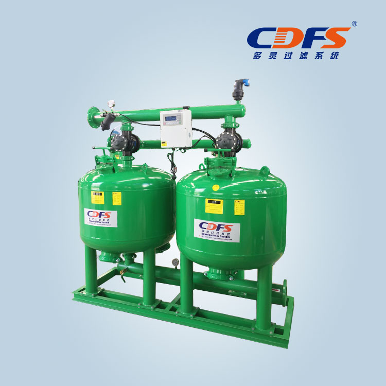 Automatic backwash sand filter
