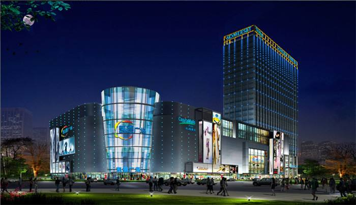 Wuhan kaide square 1818 project