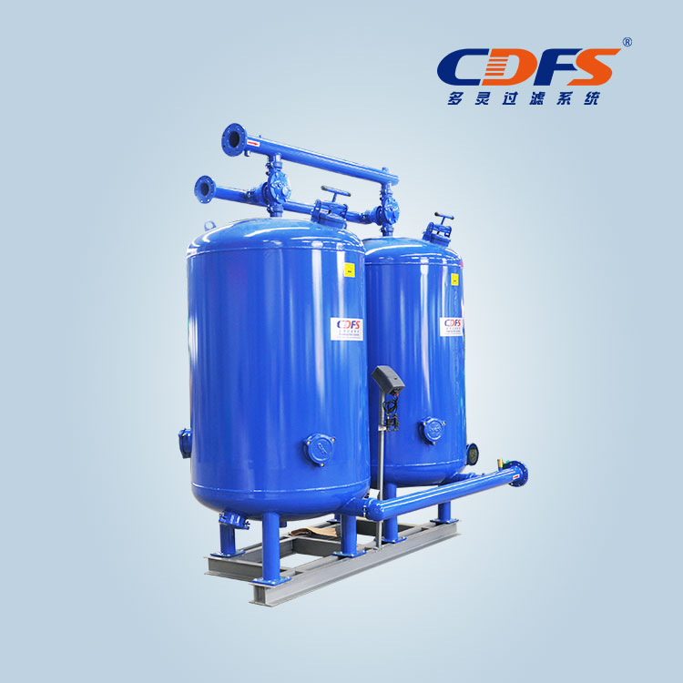 Automatic backwash carbon filter
